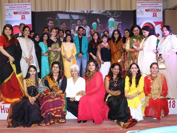 Humanity International Women Achievers Awards 2018 felicitates all women of substance