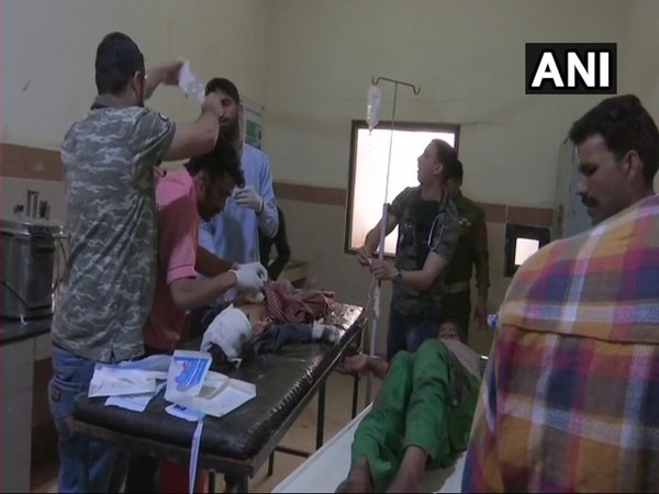 Children injured in Pakistans shelling in hospital (Image credit - ANI/Twitter)