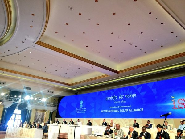 International Solar Alliance summit in New Delhi