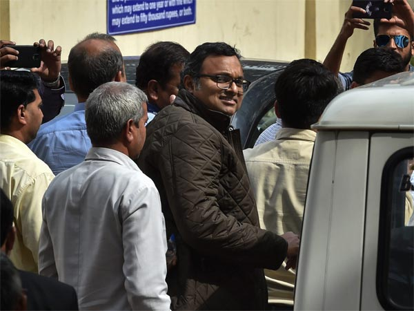 Karti Chidambaram in 5-day CBI custody