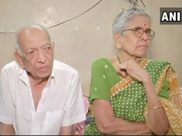 Mr & Mrs. Narayan Lavate. Courtesy: ANI news