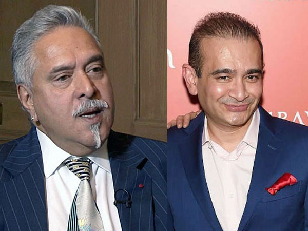 Vijay Mallya and Nirav Modi