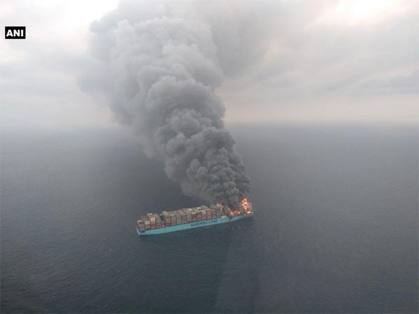 [Maersk Line vessel on fire: Indian sailor still missing, Thai national dies]