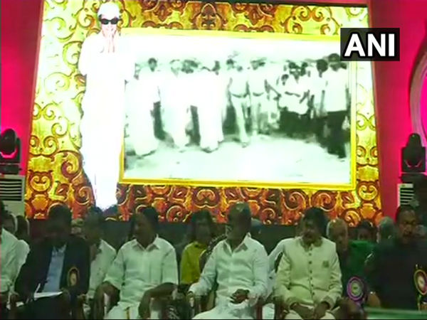 Chennai: Rajinikanth unveils statue of MGR at Dr MGR Educational and Research Institute