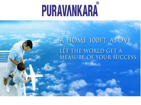 Puravankara Sky Condos, a paradise above 100ft: All Ready 3BHK Residential Apartments
