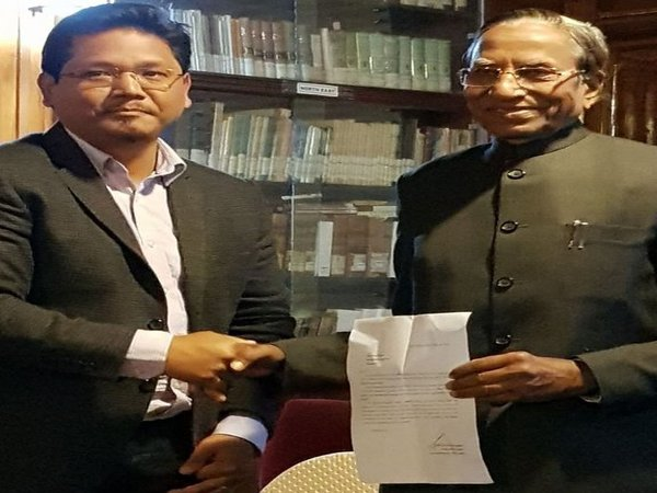 [NPP-led coalition stakes claim to form govt, Conard Sangma to be next CM]
