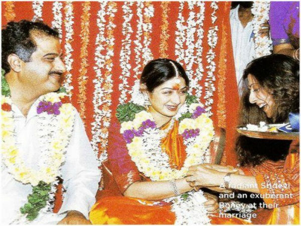 Sridevi married Boney Kapoor