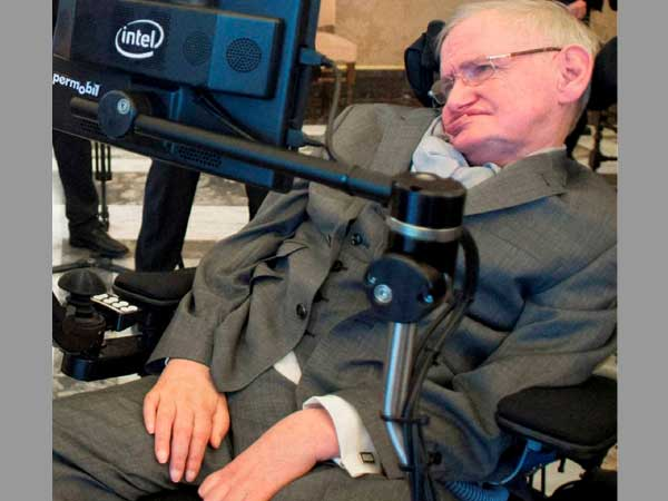 Do you know Stephen Hawking's advice to his children ?