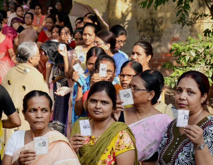 With 72.36 per cent polling Karnataka beats its 1978 record