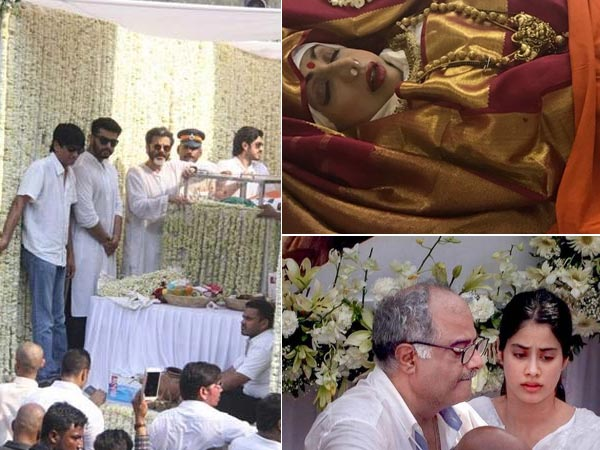 Sridevi: Actress' ashes to be immersed in Rameswaram