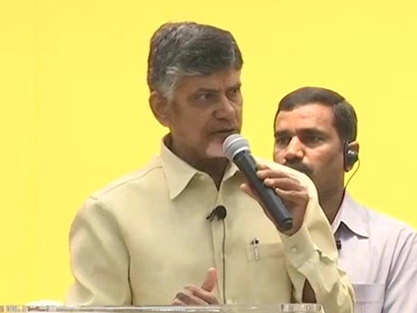 BJP is trying to suppress my voice, alleges Andhra CM Naidu