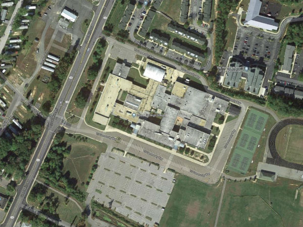 US Shooting at Maryland high school facility on lockdown