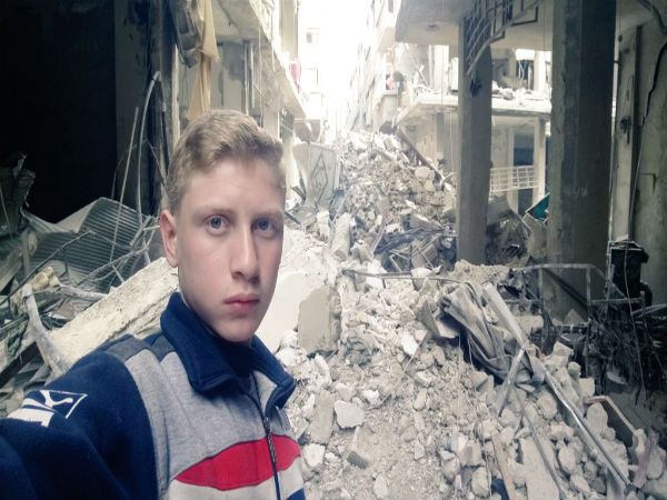 Syrian troops advance in rebel-held region near capital