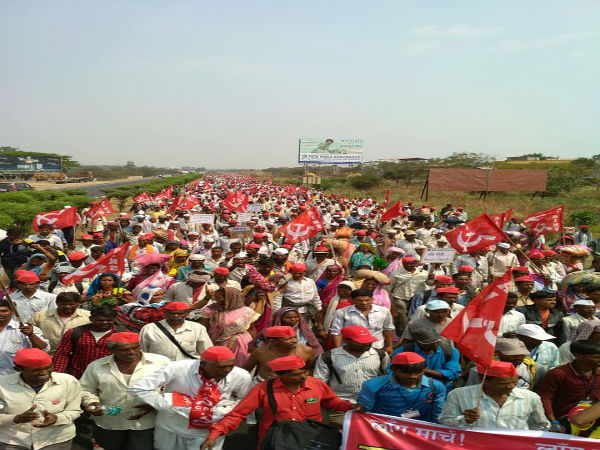 Protest march: Farmers to reach Mantralaya from Nasik with various demands
