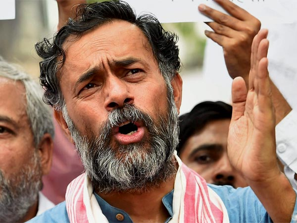 File photo of Yogendra Yadav