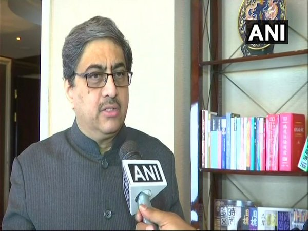 Indian High Commissioner to China Gautam Bambawale (Image courtesy - ANI/Twitter)