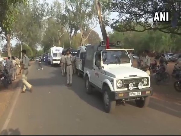 Security arrangements in Bhopal