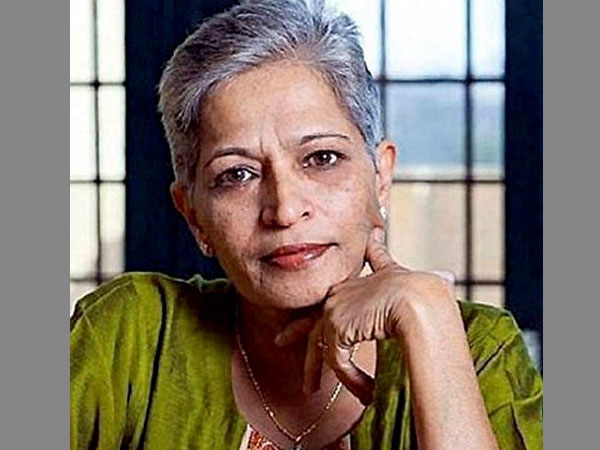 File photo of Gauri Lankesh