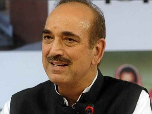 File photo of Ghulam Nabi Azad