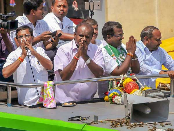 In the battle for Ramanagara Kumaraswamy defends seat and party's relevance as well