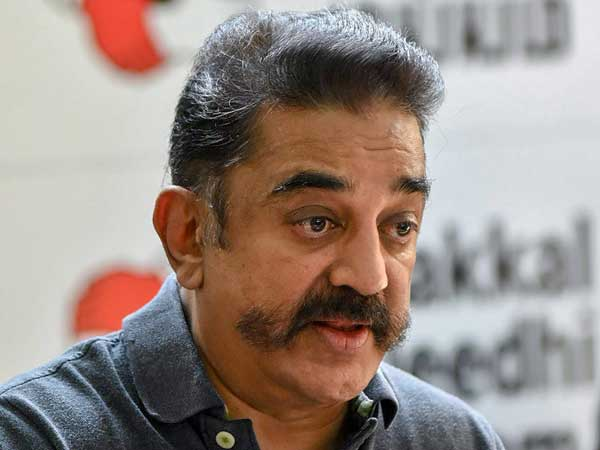 Actor-turned-politician Kamal Haasan