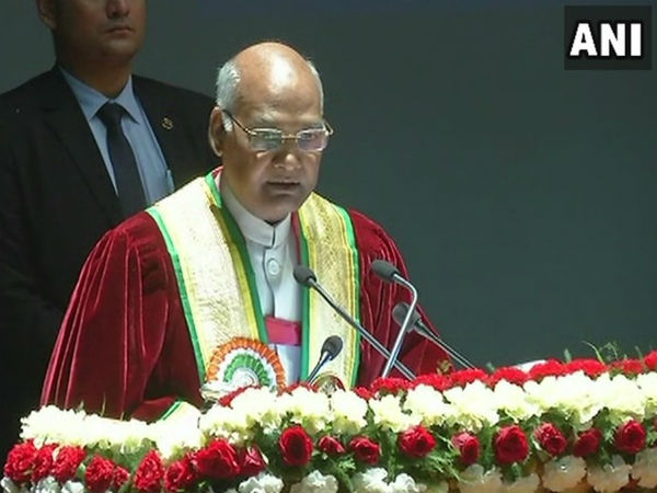 Shame that incidents like Kathua rape are taking place even after 70 years of independence: Kovind