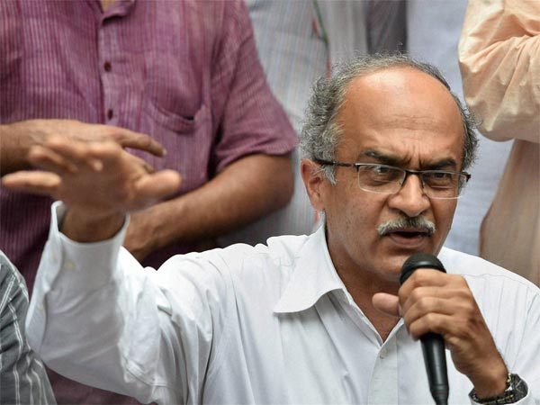 Supreme Court lawyer Prashant Bhushan. PTI file photo