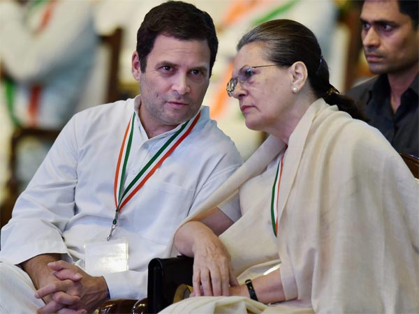 File photo of Rahul Gandhi and Sonia Gandhi