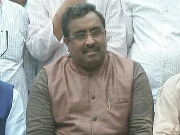 Ram Madhav, BJP National General Secretary