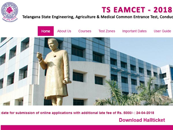 TS EAMCET 2018 hall ticket released: Here are the important dates