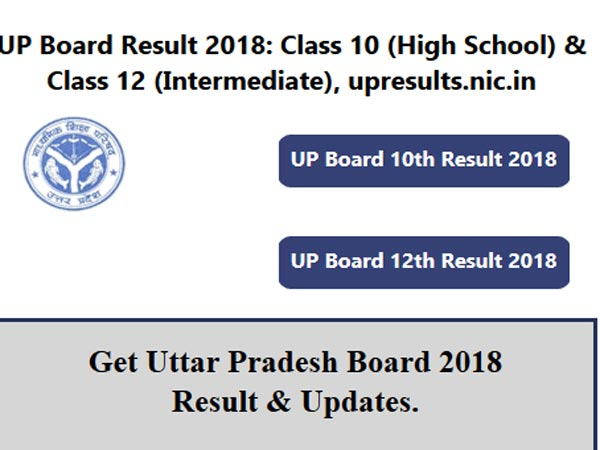 UP Board results 2018 for Class 12 declared, how to check
