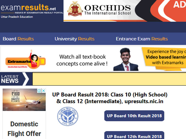 UP Board Result 2018 dates confirmed: To release on this date