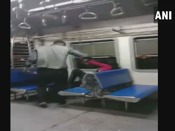 Woman molested and beaten up on board a local train