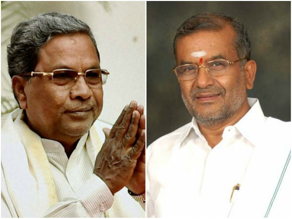 Siddaramaiah and G T Deve Gowda