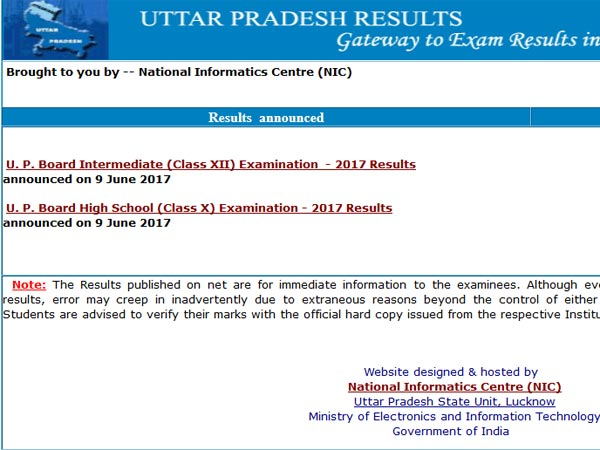 UP Board Results 2018 not releasing on April 15, check new date