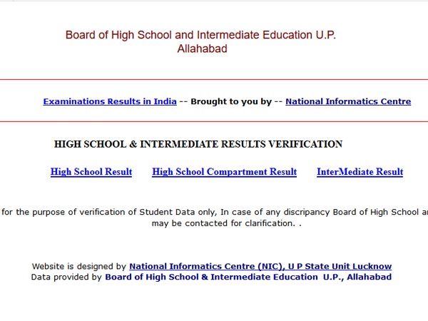 UP Board Result 2018 date: Check update - Oneindia News