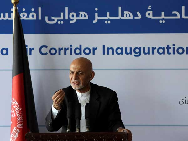 President of the Islamic Republic of Afghanistan, Mohammad Ashraf Ghani