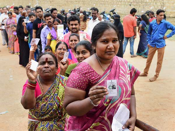36.30 per cent voting till 3.00 PM in Bengaluru
