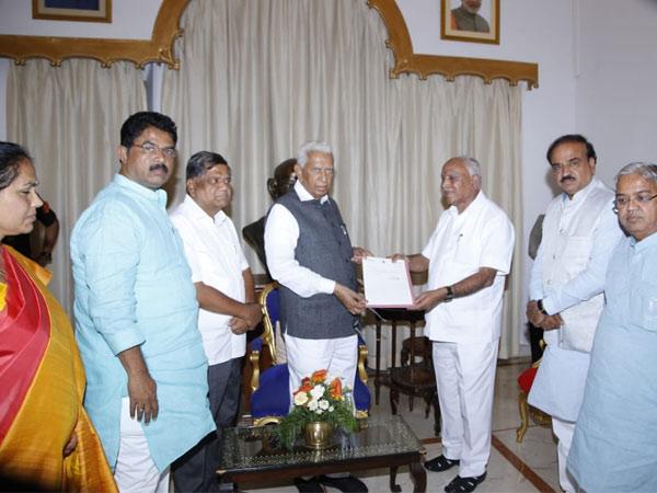 येद्दुरप्पा मुख्यमंत्री शपथ कर्नाटक