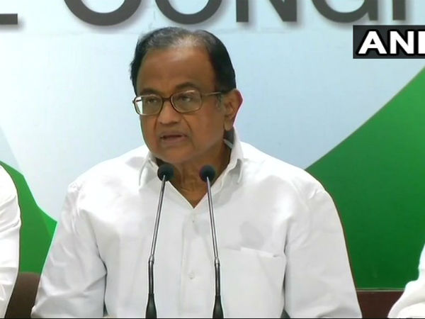 What is standing in way of Governor from extending invitation to HD Kumaraswamy? asks Chidambaram