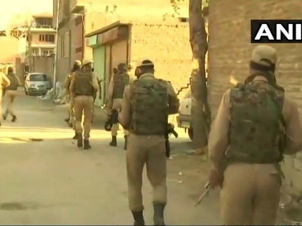 CRPF jawan injured in encounter with militants in Srinagar. Courtesy: ANI news