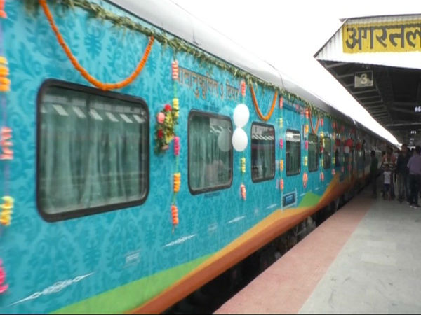 Humsafar Express bi-weekly train flagged off from Tripura