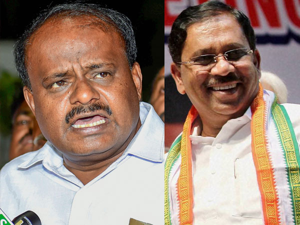 HD Kumaraswamy and Parameshwar