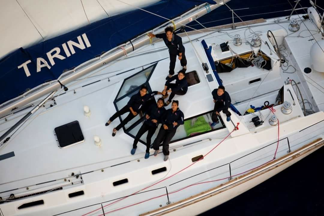 INSV Tarini to reach Goa shortly after 199 days at sea, 254 days in all