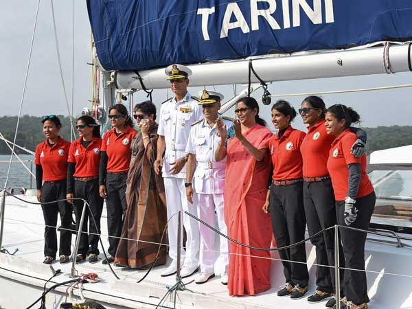 President approves gallantry awards to crew members of INSV Tarini