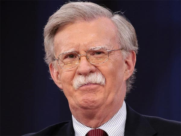 US National Security Adviser (NSA) John Bolton