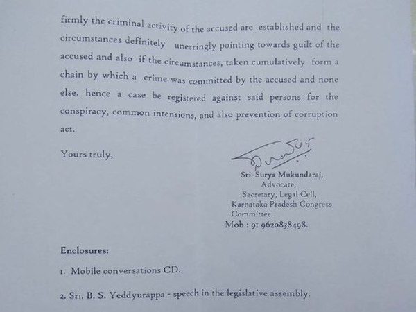 KPCC letter to Bengaluru police page 3