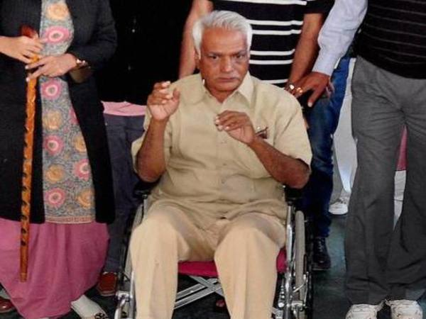 Former Minister Mahipal Maderna, accused in the Bhanwari Devi murder case. PTI file photo