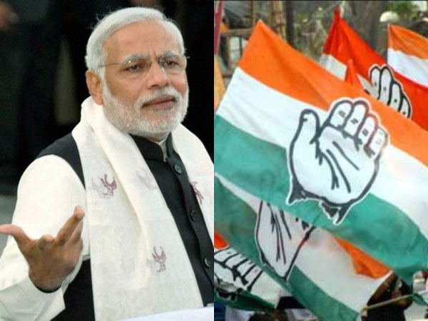 Four years of Modi govt: Mera bhashan hi mera prashasan hai, says Congress