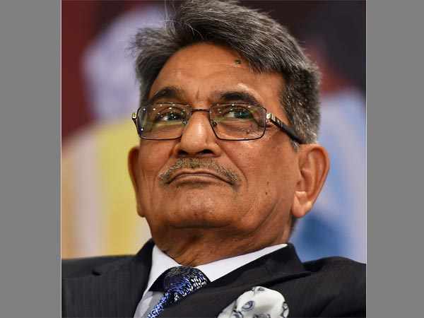 Former CJI Justice (retd) R M Lodha at the release of Arun Shouries book Anita Gets Bail in New Delhi